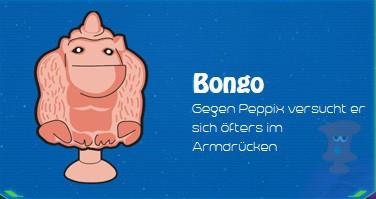 Lidl Stikeez 2014 - BONGO - Nr. 16
