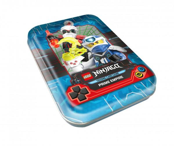 """Lego Ninjago Trading Cards - SERIE 5 (2020) - Mini-Tin-Dose """"blau"""""""