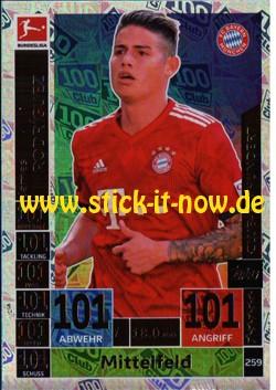 Topps Match Attax Bundesliga 18/19 - Nr. 259 (Club 100)