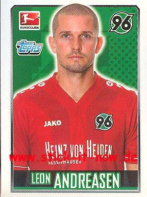 Topps Fußball Bundesliga 14/15 Sticker - Nr. 118