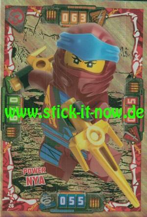Lego Ninjago Trading Cards - SERIE 4 (2019) - Nr. 26 ( Holofolie )