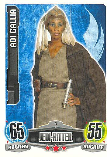 Force Attax - ADI GALLIA - Jedi-Ritter - Die Republik - Movie Collection