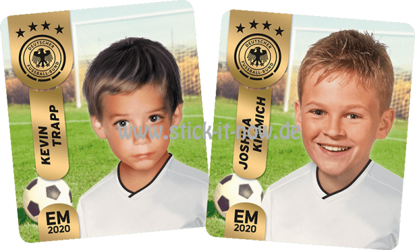 "Ferrero Team Sticker EM 2020 - ""Kids"" Nr. 2 (Trapp/Kimmich)"