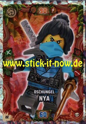 Lego Ninjago Trading Cards - SERIE 6 (2021) - Nr. 22 (Insel-Holofolie)