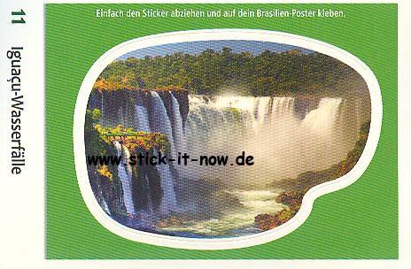 Edeka & WWF - Entdecke Brasilien - Sticker - Nr. 11
