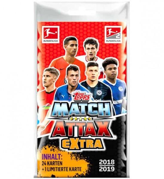"""Topps Match Attax Bundesliga 18/19 """"Extra"""" - Blister ( 1 von 3 Limitierten Karten )"""
