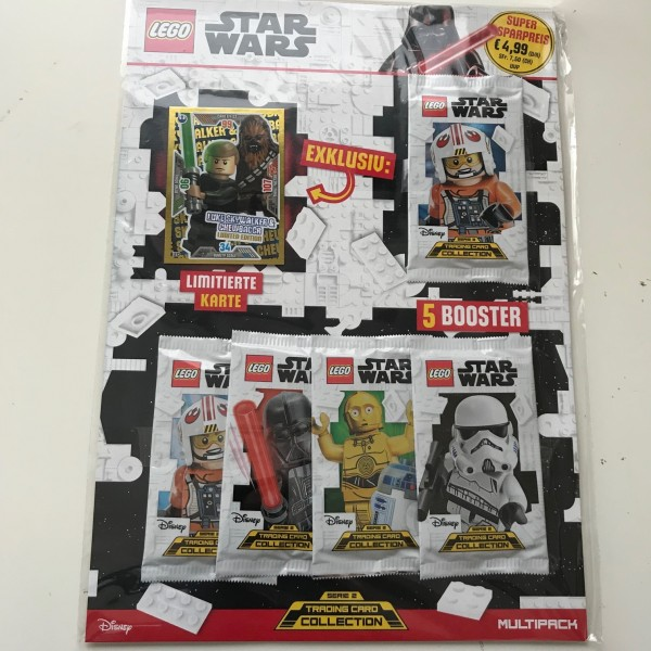 Lego Star Wars Trading Card Collection 2 (2019) - Multipack 1 ( LE 13 )
