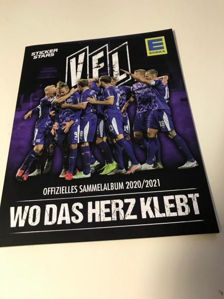 "VfL Osnabrück ""Wo das Herz klebt"" (2021) - Stickeralbum"
