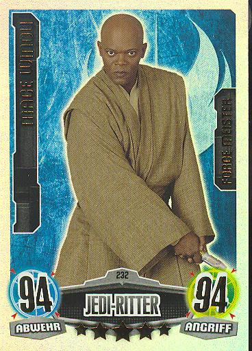 Force Attax - MACE WINDU - Jedi-Ritter - FORCE MEISTER - Movie Collection