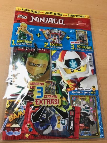 Lego Ninjago Magazin Nr. 60 (mit Lego Figur, Booster Ninjago 5 & LE 3)