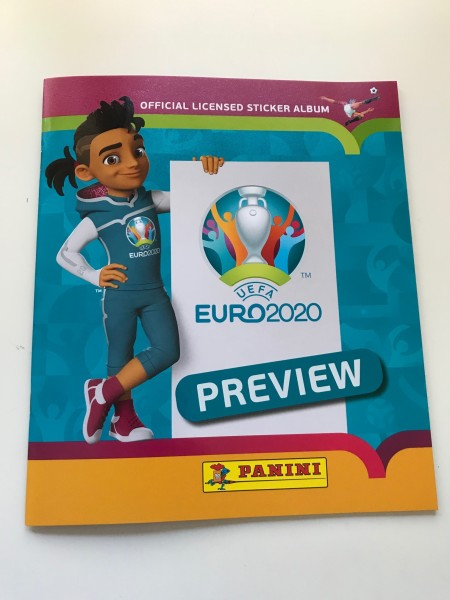 "Panini EM 2020 ""Preview-Collection"" - Stickeralbum"