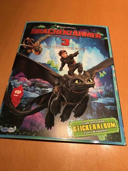 """Dragons 3 """"Die geheime Welt"""" (2019) - Stickeralbum"""