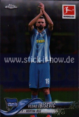 Bundesliga Chrome 18/19 - Vedad Ibisevic - Nr. 89