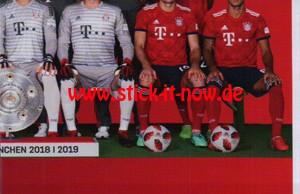 "FC Bayern München 18/19 ""Sticker"" - Nr. 5"