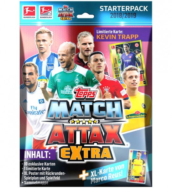 "Topps Match Attax Bundesliga 18/19 ""Extra"" - Starter-Set"