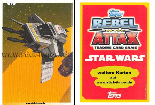 Rebel Attax - Serie 1 (2015) - STRIKE-FORCE - REBELLION 2 - Nr. 96