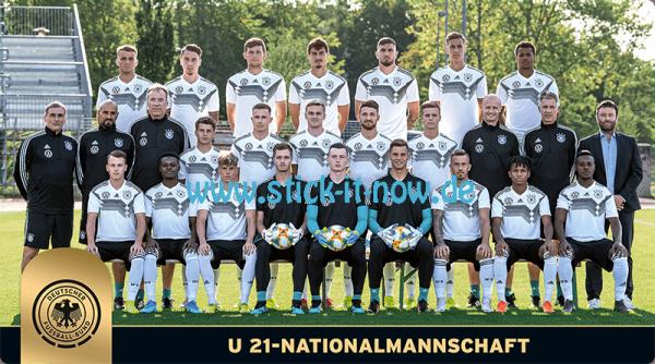 """Ferrero Team Sticker EM 2020 - """"Mannschaft"""" (U21 Nationalmannschaft)"""