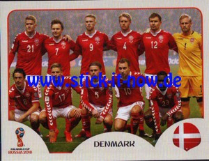 "Panini WM 2018 Russland ""Sticker"" - Nr. 253"