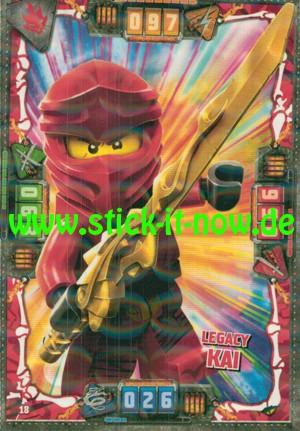 Lego Ninjago Trading Cards - SERIE 4 (2019) - Nr. 18 ( Kristall )