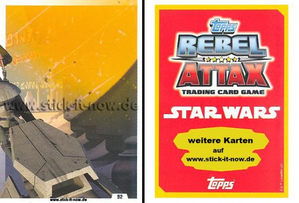 Rebel Attax - Serie 1 (2015) - STRIKE-FORCE - REBELLION 1 - Nr. 92