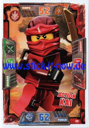 Lego Ninjago Trading Cards - SERIE 2 (2017) - Nr. 2
