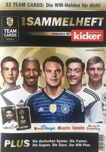 Ferrero DFB Team Cards WM 2018 - Sammelalbum