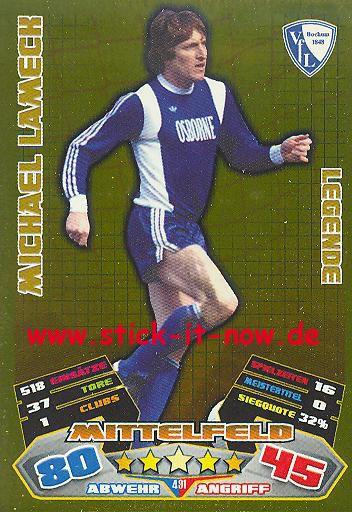 Match Attax 12/13 EXTRA - Michael Lameck - VfL Bochum - LEGENDE - Nr. 491