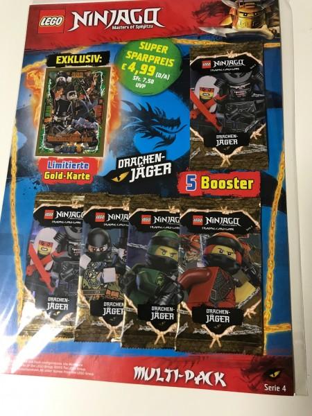 Lego Ninjago Trading Cards - SERIE 4 (2019) - Multipack 4 ( LE20 )