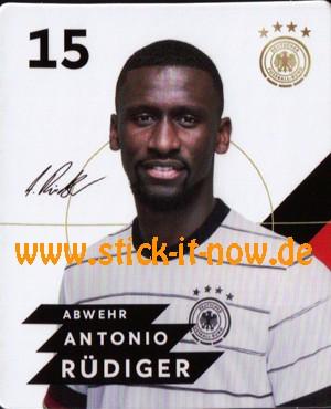 Rewe DFB Sammelkarten EM 2020 - Antonio Rüdiger - Nr. 15