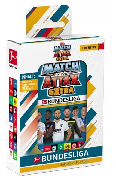 "Topps Match Attax Bundesliga 2020/21 ""Extra"" - Mini Tin ""Blau"""
