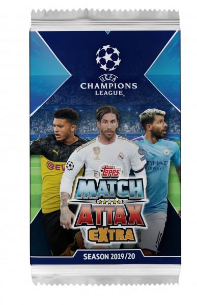 """Match Attax Champions League 2019/20 """"Extra"""" - Booster ( 6 Karten )"""