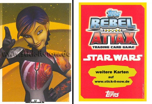 Rebel Attax - Serie 1 (2015) - STRIKE-FORCE - REBELLION 2 - Nr. 97