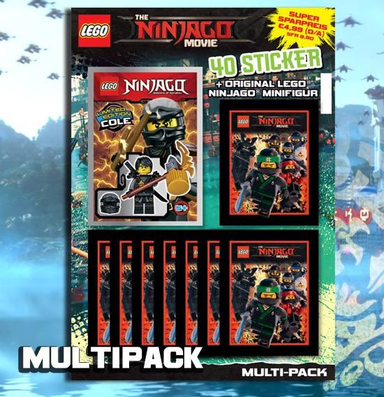 LEGO Ninjago Movie Sticker (2017) - Multipack
