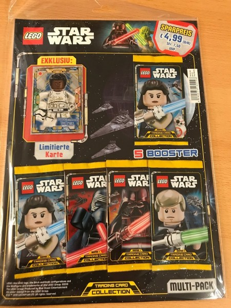 Lego Star Wars Trading Card Collection (2018) - Multipack 3 ( LE9 )