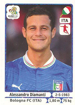 Panini EM 2012 Update - Internationale Ausgabe - Alessandro Diamanti