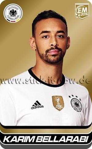 DFB Team Cards EM 2016 - Karim Bellarabi (GOLD)