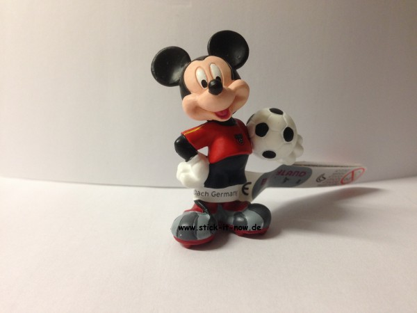 Bullyland Disney Goal WM 2014 Figur - Mickey Maus (Spanien)