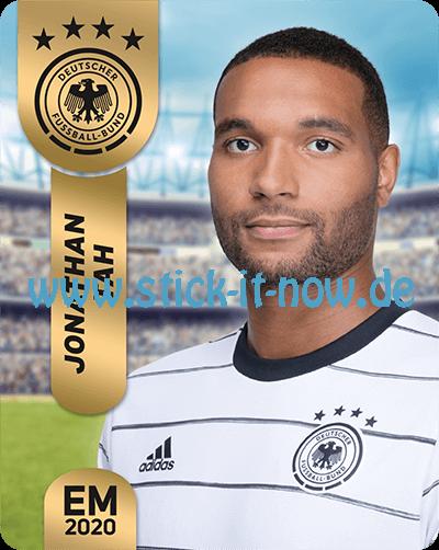 """Ferrero Team Sticker EM 2020 - """"Portrait"""" Nr. 7"""