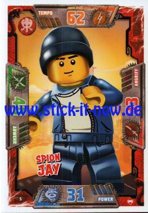 Lego Ninjago Trading Cards - SERIE 2 (2017) - Nr. 5