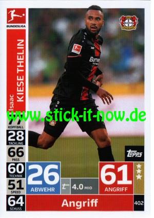 "Topps Match Attax Bundesliga 18/19 ""Action"" - Nr. 402"