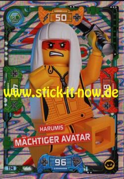 Lego Ninjago Trading Cards - SERIE 5 (2020) - Nr. 114 ( Holofolie )