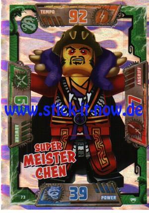 Lego Ninjago Trading Cards - SERIE 2 (2017) - Nr. 73 (GLITZER)