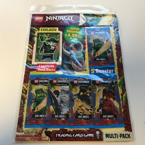 Lego Ninjago Trading Cards - SERIE 6 (2021) - Multipack 1c ( LE 19 )