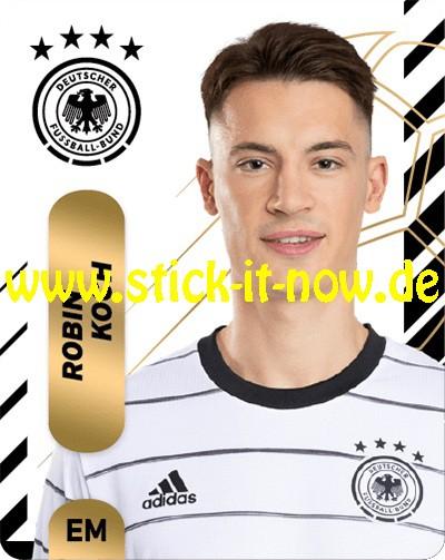 "Ferrero Team Sticker EM 2020 (2021) - ""Portrait"" Nr. 8 ( Koch )"
