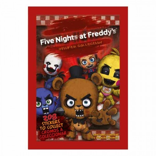 Five Nights at Freddy's (2017) - 1 Stickertüte (6 Sticker)