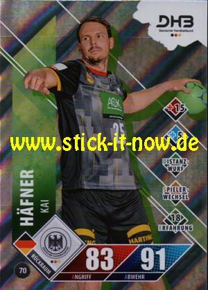 """LIQUI MOLY Handball Bundesliga """"Karte"""" 20/21 - Nr. 70 (Glitzer)"""