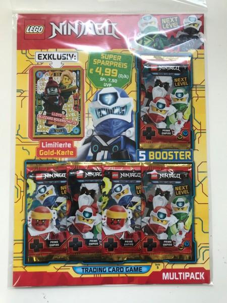 "Lego Ninjago Trading Cards - SERIE 5 ""Next Level"" (2020) - Multipack 2 (LE18)"