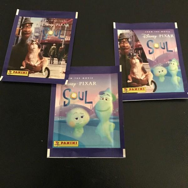 """Disney """"Soul"""" (2021) - Stickertüte ( 5 Sticker )"""