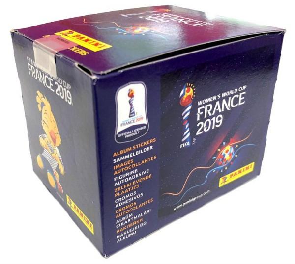 Panini Frauen WM 2019 Frankreich - Display ( 50 Tüten )