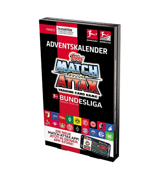 Topps Match Attax Bundesliga 2019/20 - Adventskalender